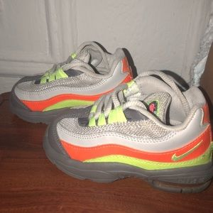 Colorful air max for toddlers